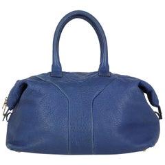Saint Laurent Woman Handbag Navy Leather