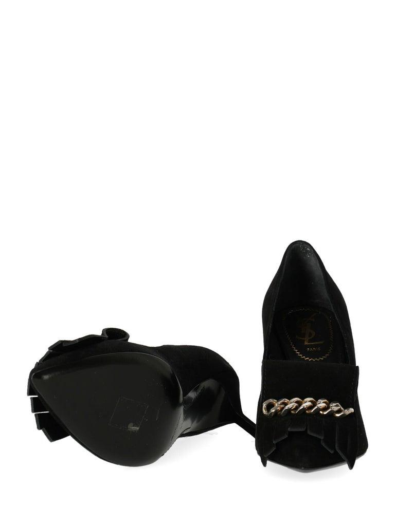 Women's Saint Laurent Woman Pumps Black EU 36.5 For Sale