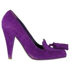 Saint Laurent Woman Pumps Purple EU 38