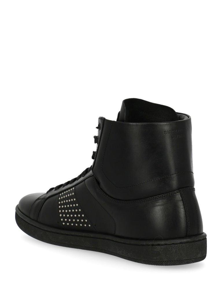 Saint Laurent Woman Sneaker Black EU 37 In Excellent Condition For Sale In Milan, IT