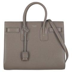Saint Laurent  Women   Handbags  Sac De Jour Grey Leather