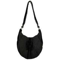 Saint Laurent  Women   Shoulder bags   Black Fabric