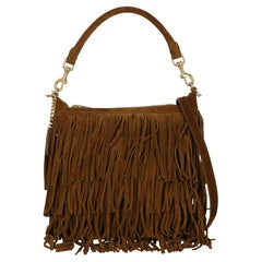 Saint Laurent  Women Shoulder bags  Emmanuelle Brown Leather