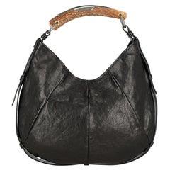 Saint Laurent Women  Shoulder bags  Mombasa Black Leather