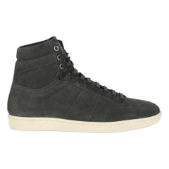 Saint Laurent Women  Sneakers Anthracite Leather IT 39