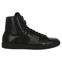 Saint Laurent Women's Sneaker Black Leather Size IT 37