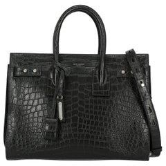 Saint Laurent Women's Tote Bag Sac De Jour Black