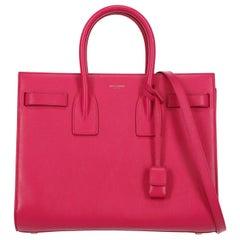 Saint Laurent Women's Tote Bag Sac De Jour Pink