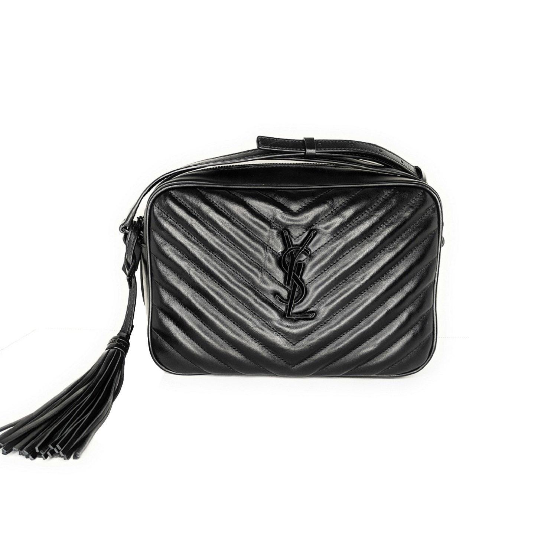 Saint Laurent YSL Matelassé Crossbody Lou Camera Bag