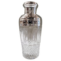 "Saint Louis Handcut Crystal ""Tommy"" Shaker, France, Modern"