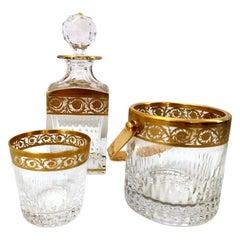 "Saint-Louis ""Thistle Gold"" Whisky Service '12 Whisky Tumbler'"