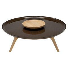 Saint Luc 'Duales' Coffee Table in Oak by Noé Duchaufour