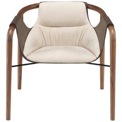 Saint Luc 'Hamac' Armchair in Ivory by J.P. Nuel