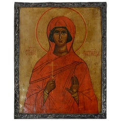 Saint Paraskeva Piatnitsa Pyatnitsa Russian Icon