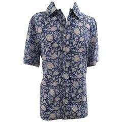 Saints blue multicoloured cotton shirt