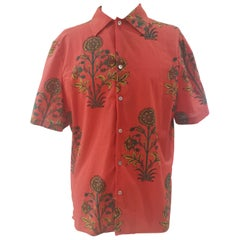 Saints red cotton shirt