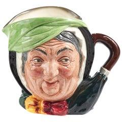 Sairey Gamp Character Toby Jug by Royal Doulton