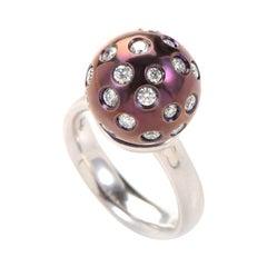 Salavetti 18 Karat White Gold Diamond Ring SALAG04-080612