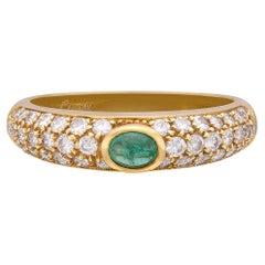 Salavetti Emerald & 18k Gold Ring