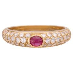 Salavetti Ruby & 18k Rose Gold Ring