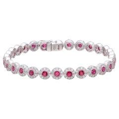 Salavetti Ruby & Diamond Bracelet