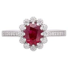 Salavetti Ruby & Diamond Ring