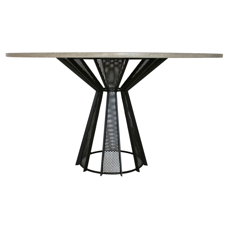Sale, James de Wulf Concrete Harvest Dining Table, Available Now