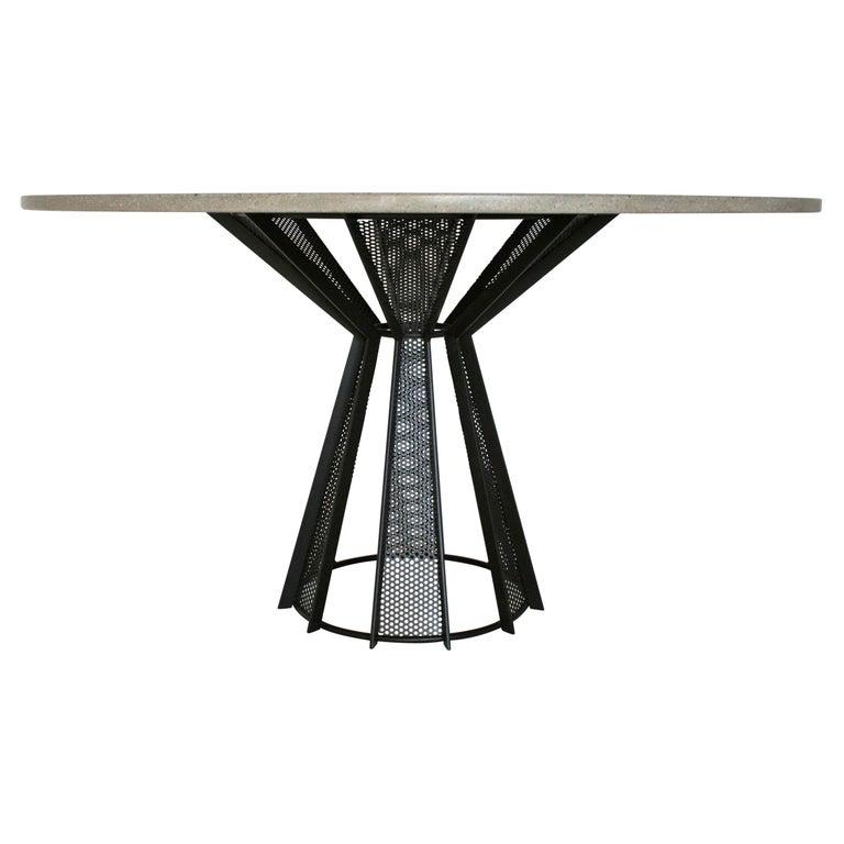 Sale, James de Wulf Concrete Harvest Dining Table, Available Now For Sale