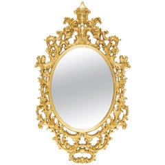 Salerne Gold Mirror