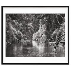 Salgado, Amazônia Art B, Signed Sumo Book with Black & White Photographic Print