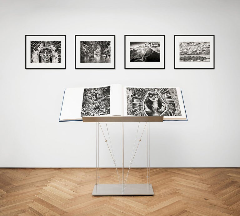Salgado, Amazônia Art D, Signed Sumo Book with Black & White Photographic Print For Sale 4