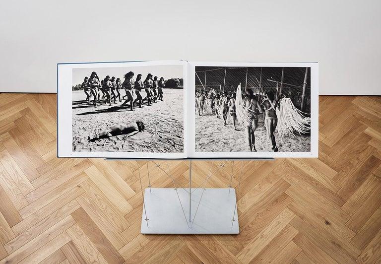 Salgado, Amazônia Art D, Signed Sumo Book with Black & White Photographic Print For Sale 1