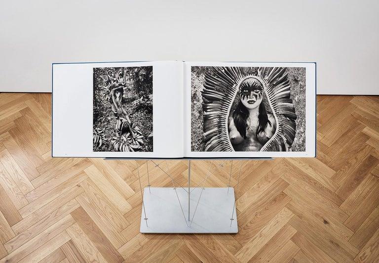 Salgado, Amazônia Art D, Signed Sumo Book with Black & White Photographic Print For Sale 3
