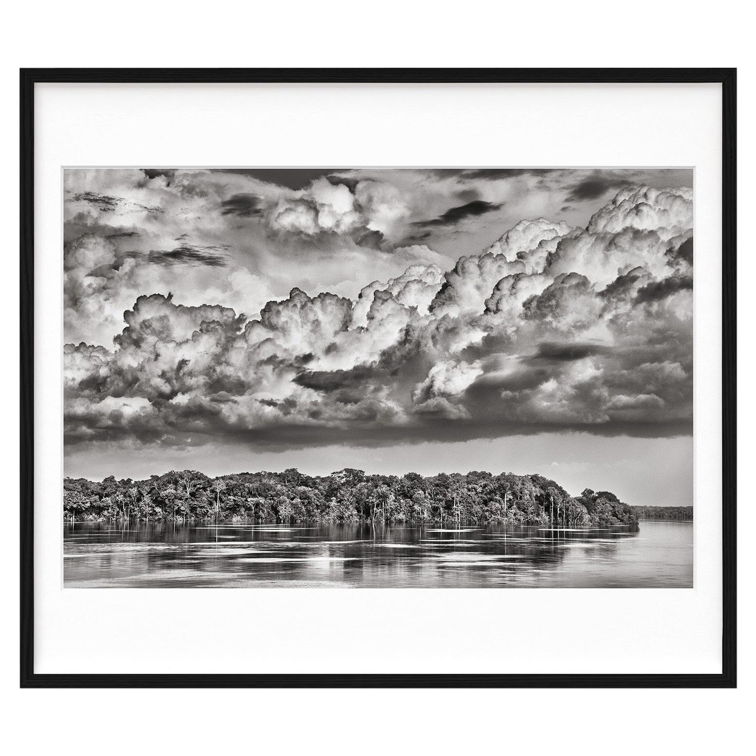 Salgado, Amazônia Art D, Signed Sumo Book with Black & White Photographic Print