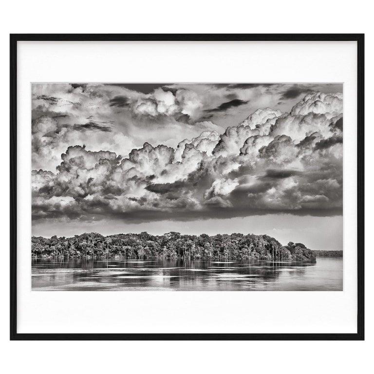 Salgado, Amazônia Art D, Signed Sumo Book with Black & White Photographic Print For Sale