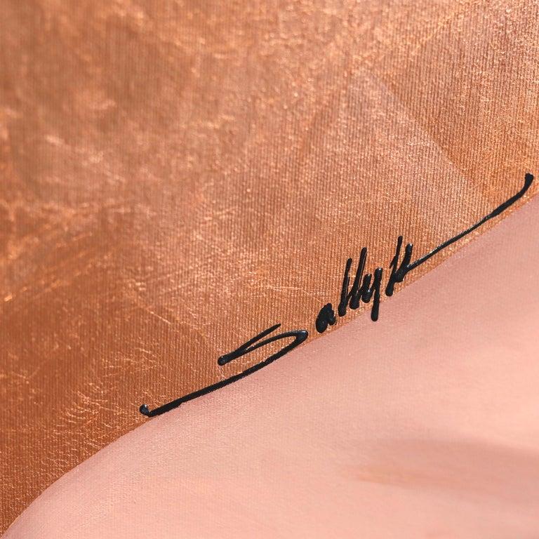Monica - Original Copper Sally K Artwork For Sale 3