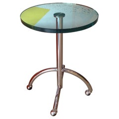 Sally Side Table by Shiro Kuramata for Memphis Srl