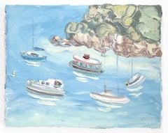 Berry's Bay 2 (6.5.20) - Original Oil Painting