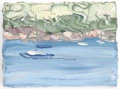 Pittwater, Lucinda Park Study 2 (15.4.20) - Original Oil Painting
