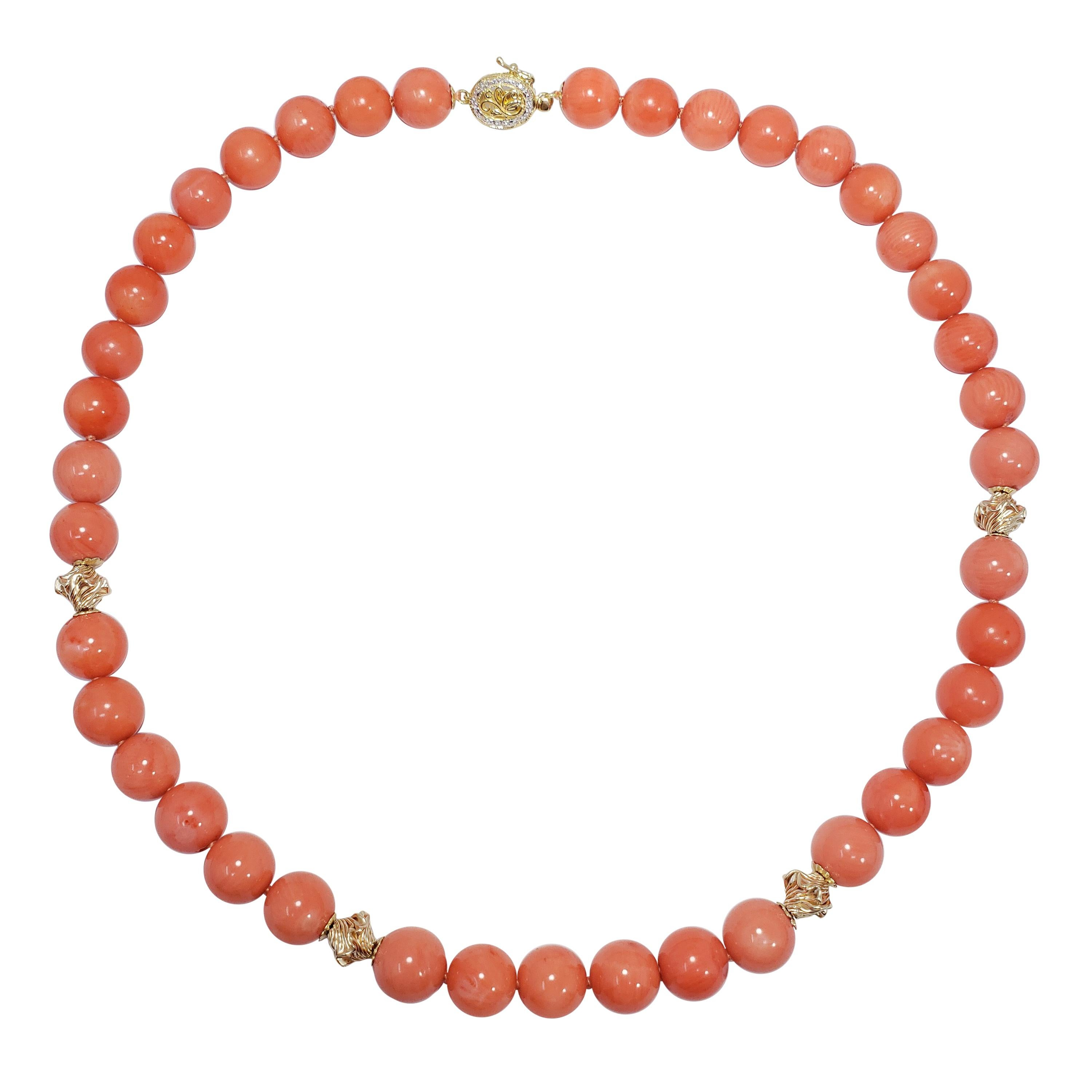 cf30a68e1208f Genuine South Sea Pearl Bead Knotted String Necklace with 14 Karat Yellow  Gold
