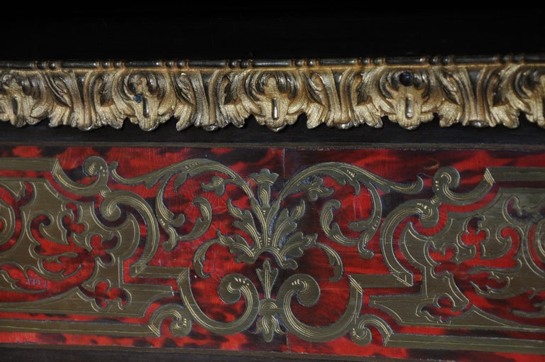 Salon Boulle Chest of Drawers Chest of Drawers Napoleon III, Paris For Sale 10