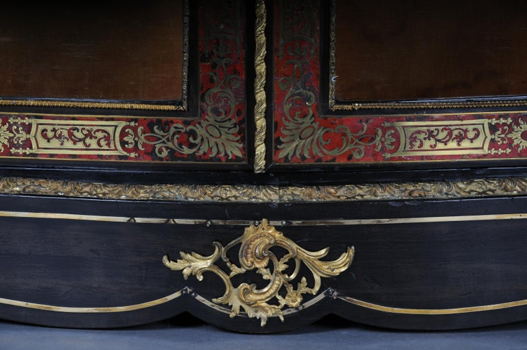 Late 19th Century Salon Boulle Chest of Drawers Chest of Drawers Napoleon III, Paris For Sale