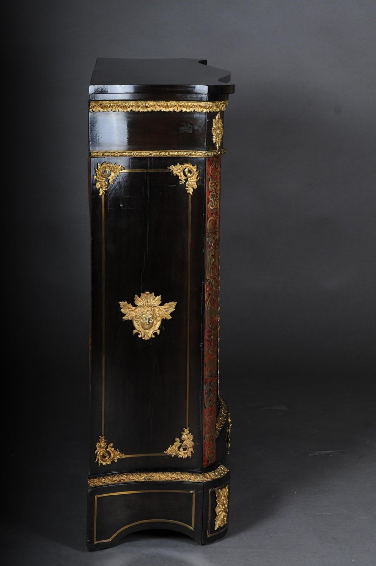 Salon Boulle Chest of Drawers Chest of Drawers Napoleon III, Paris For Sale 1