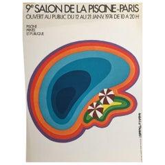 """Salon de la piscine"" Poster"