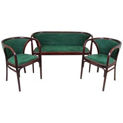 Salon Suite by M. Kammerer for Thonet, Austria, circa 1910