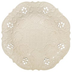 Salt-Glazed Dish Made in England, circa 1765