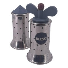 Salt & Pepper Shakers Designed by Michael Graves for Alessi Memphis Era
