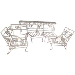 Salterini Banana Leaf Six Piece Patio Set