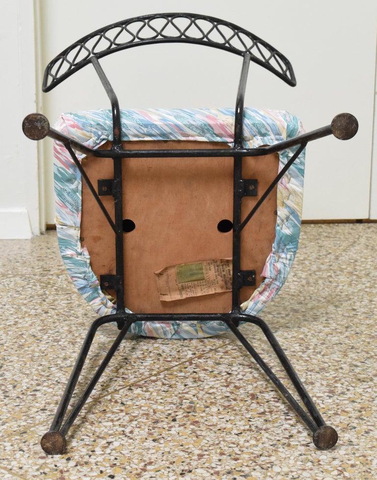 Salterini Bistro Chairs For Sale 3
