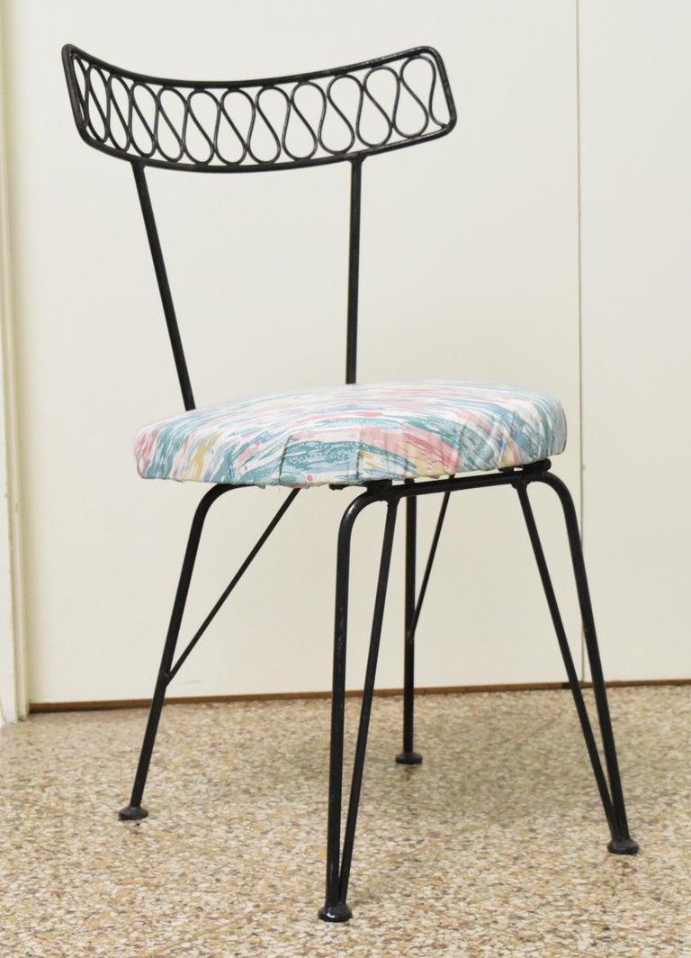 Mid-20th Century Salterini Bistro Chairs For Sale